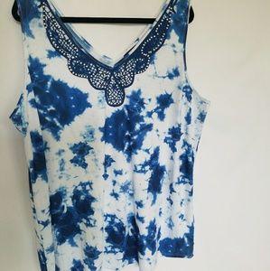 8f8a91de5eba7 Simply Emma Tops - 🎈🎈Plus Size simply Emma Women s Tank Top Tie Dye